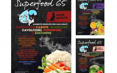 Superfood 65, sta arrivando la nostra nuova linea di alimenti di altissima qualità per cani, oggi presentiamo la linea Manzo